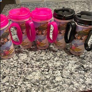 5 Disney Resort Refillable Mugs